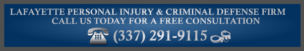 Lafayette Criminal Defense Attorney Consultation